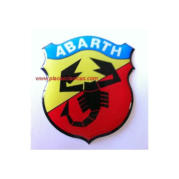 Anagrama Escudo ABARTH resina PL-310 Image