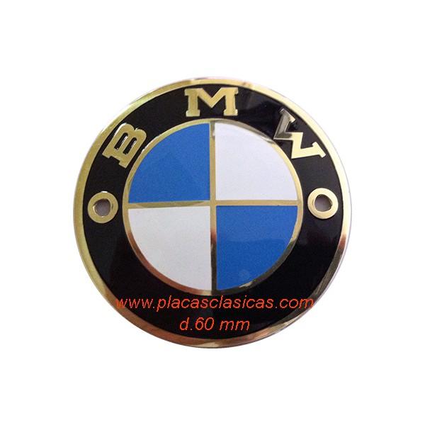 Placa Anagrama BMW 60 dorada PL-207-D Image