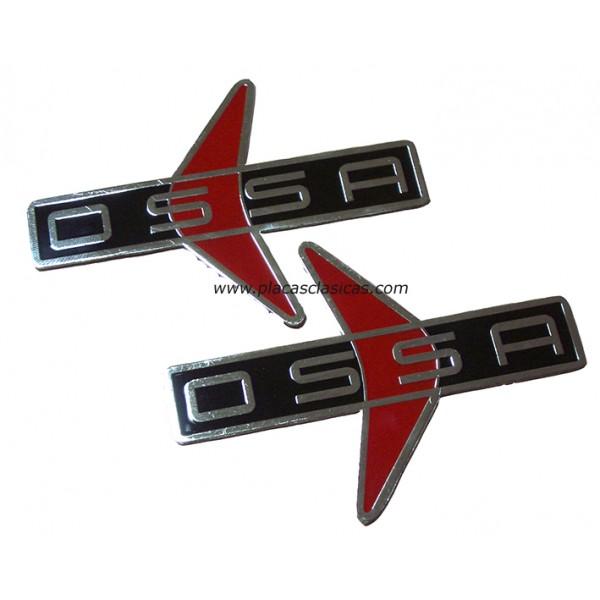 Par de Placas OSSA 160 GT PL-206 Image