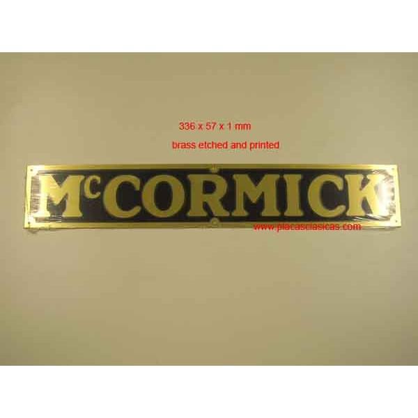 Placa McCormick Image