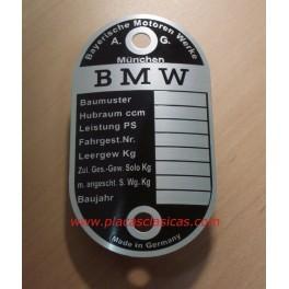 Placa Bastidor BMW PL-219 Image