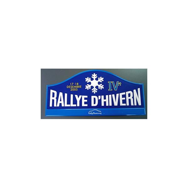 Placa Rally Hivern 2005 Image