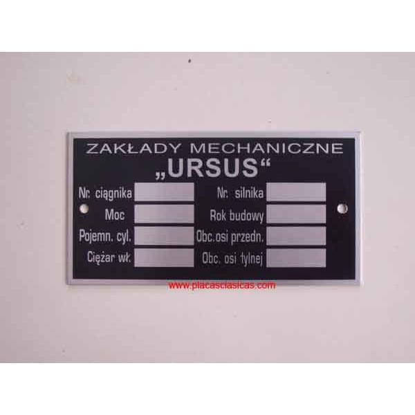 Placa URSUS Image