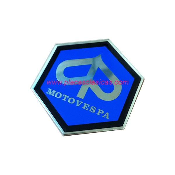 Placa MOTOVESPA hexagonal 31 mm PL-229 Image