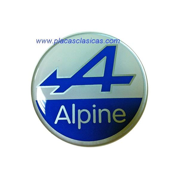 Anagrama ALPINE resina d. 49 mm PL-315 Image