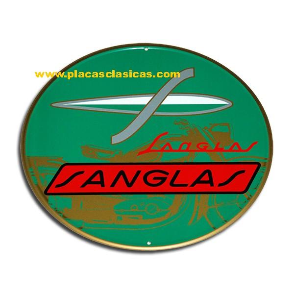 Placa SANGLAS moto 016 Image