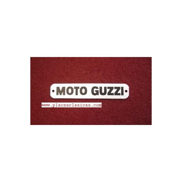 Placa Moto Guzzi 80 mm PL-122 Image