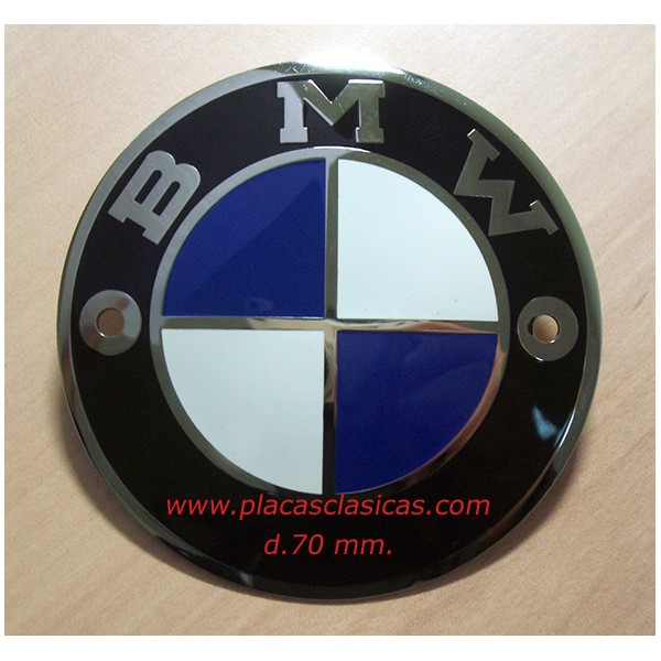 Placa BMW 70 mm PL-208 Image