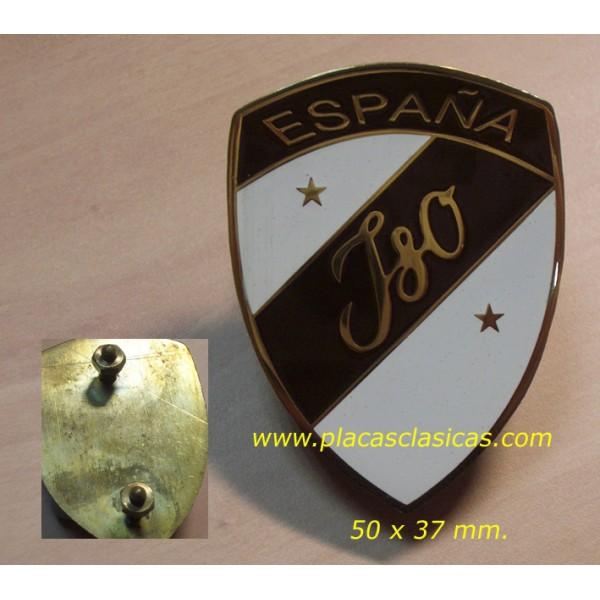 Placa ISO ESPAÑA 50 mm PL-217 Image