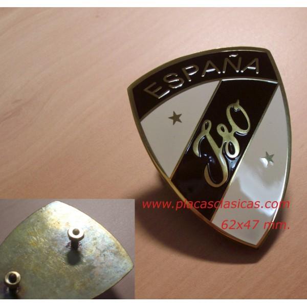 Placa ISO ESPAÑA 62 mm PL-217G Image