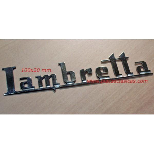 Anagrama LAMBRETTA 100 mm PL-224 Image