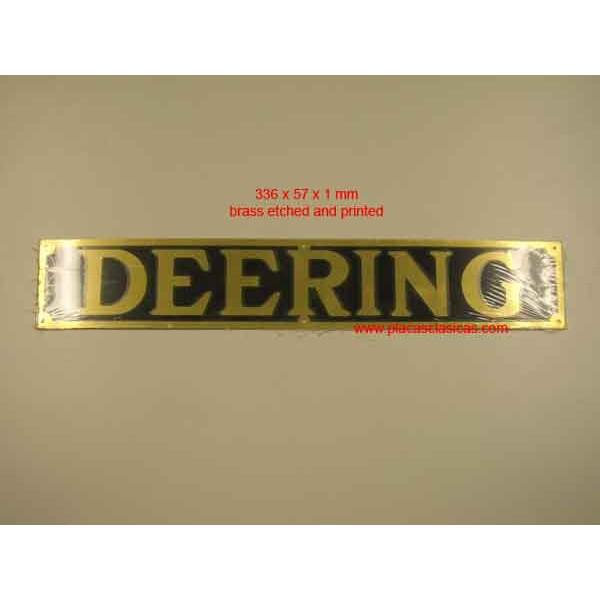 Placa Deering Image