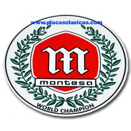 Placa Montesa W.Champion 001 Image