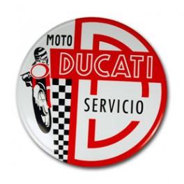 Placa DUCATI SERVICIO 006 Image