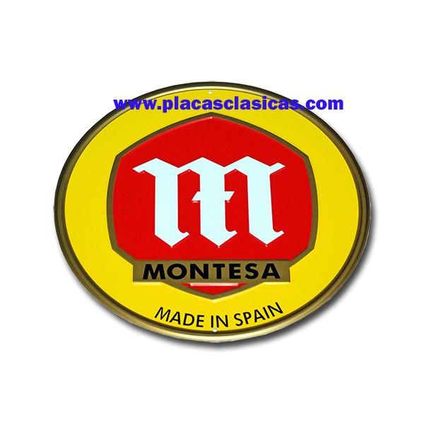 Placa MONTESA AMARILLA 012 Image