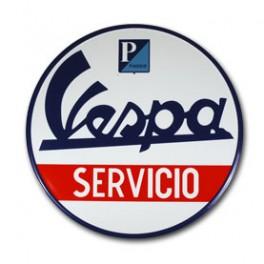Placa VESPA SERVICIO 020 Image