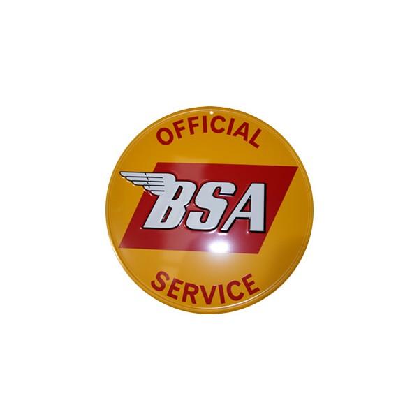 Placa BSA SERVICE 023 Image
