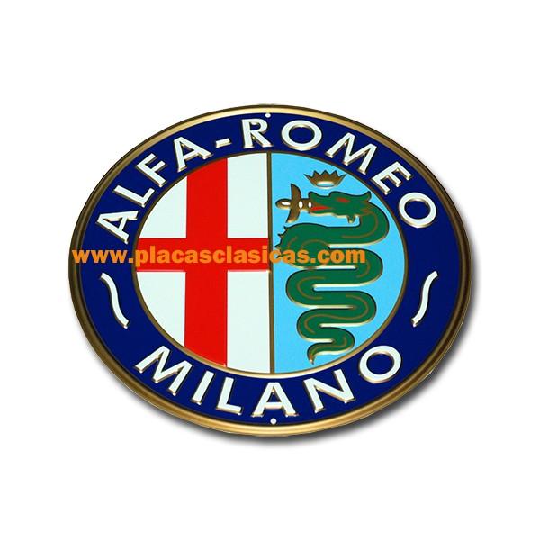 Placa ALFA ROMEO 028 Image